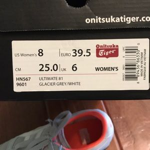 Asics Shoes - ASICS onitsuka tiger sneakers
